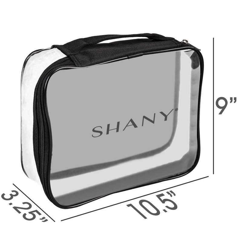 SHANY Travel Bag- Waterproof- Clear -  - ITEM# SH-PC10 - Best seller in cosmetics TRAVEL BAGS category