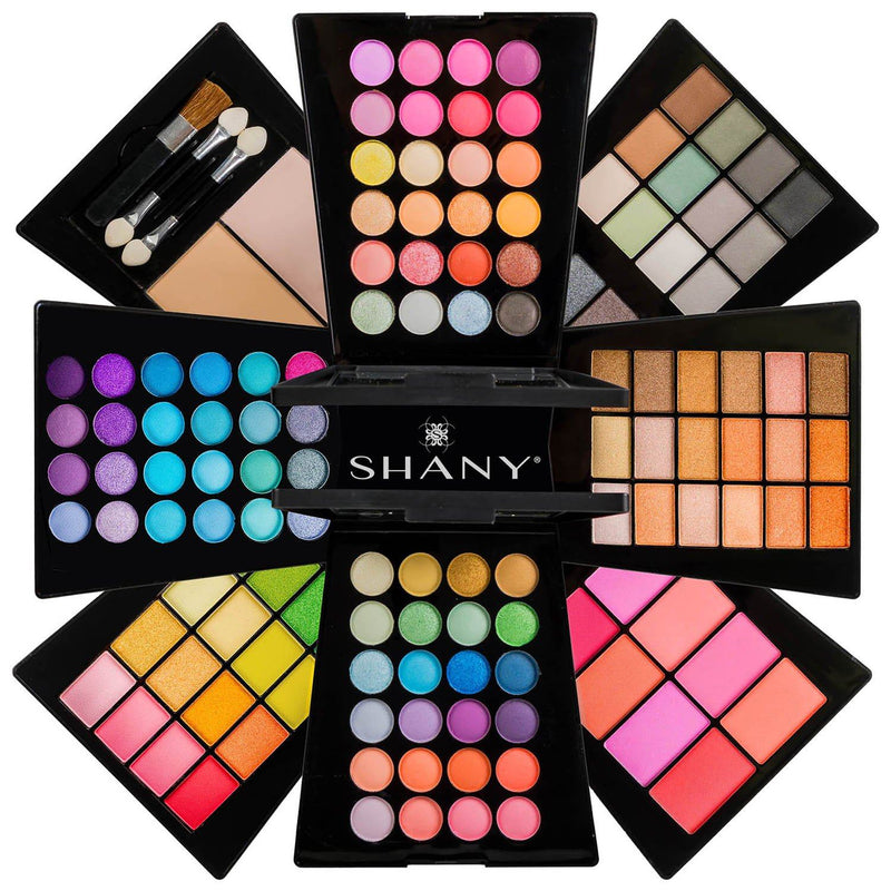 The SHANY Beauty Cliche -  Makeup Palette - All-in-One Makeup Set with Eyeshadows, Face Powders, and Blushes - SHOP  - MAKEUP SETS - ITEM# SH-188