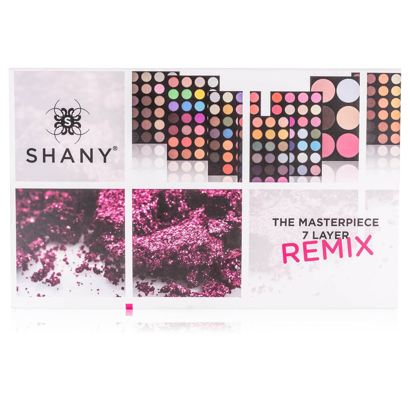 SHANY The Masterpiece Empty Storage Box -  - ITEM# SH-7L-B-EMPTY - Makeup set train case Contour makeup set kit gift,beginner makeup kits for teens makeup palette,Holiday Gift Set Beginner Makeup tools brush sets,pre teen make up makeup kits for teens girls,Christmas gift Dress-Up Toy pretend Makeup kit set - UPC# 616450441470