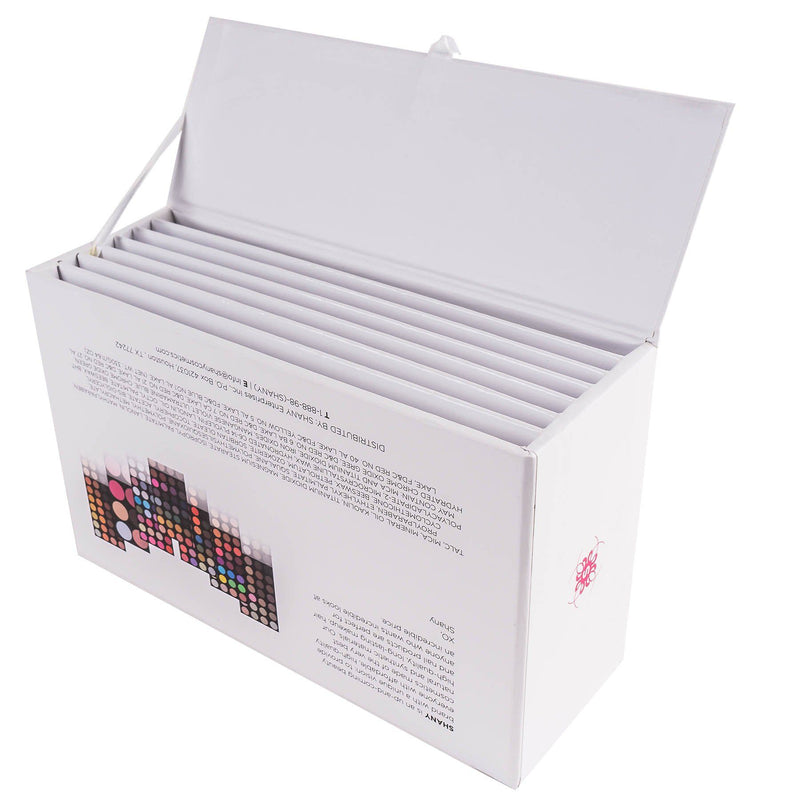 SHANY The Masterpiece Empty Storage Box w/ Magnetic lid - Fits 7 layers - WHITE -  - ITEM# SH-7L-B-EMPTY - Buy this layer holder if you want to select the layers yourself. The masterpiece layers come with 7 layers inside, and now that we offer over 14 layers you may want to make your own Masterpiece kit. Once you sele