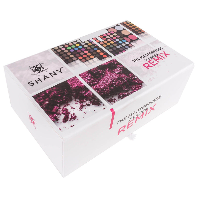 SHANY The Masterpiece Empty Storage Box with Magnetic lid - Fits 7 layers - WHITE - SHOP  - MAKEUP SETS - ITEM# SH-7L-B-EMPTY