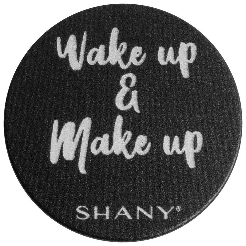 SHANY Mobile Phone Holder - WAKE UP AND MAKEUP -  - ITEM# SH-POP-BK - Best seller in cosmetics ACCESSORIES category