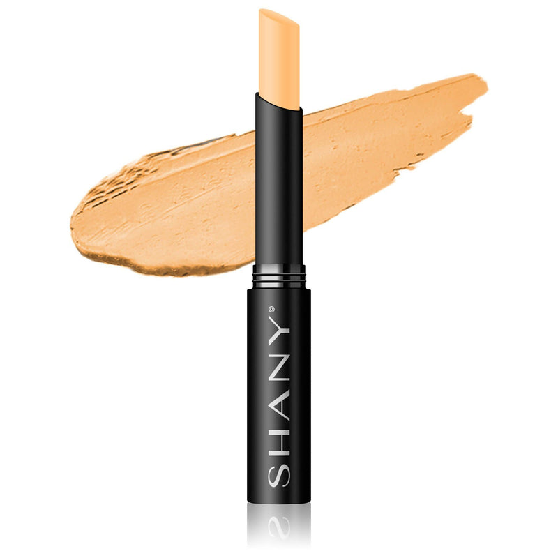 SHANY Crème Concealer Stick - Paraben Free-LW2 - LIGHT WARM 2 - ITEM# FCS-LW2 - Concealer makeup palette stick light cream powder,Dark circle under eye pen foundation corrector kit,Bare minerals revlon loreal maybelline neutrogena,Women cosmetic loose waterproof natural base face,Brightening talc free liquid finish full coverage - UPC# 082045220308