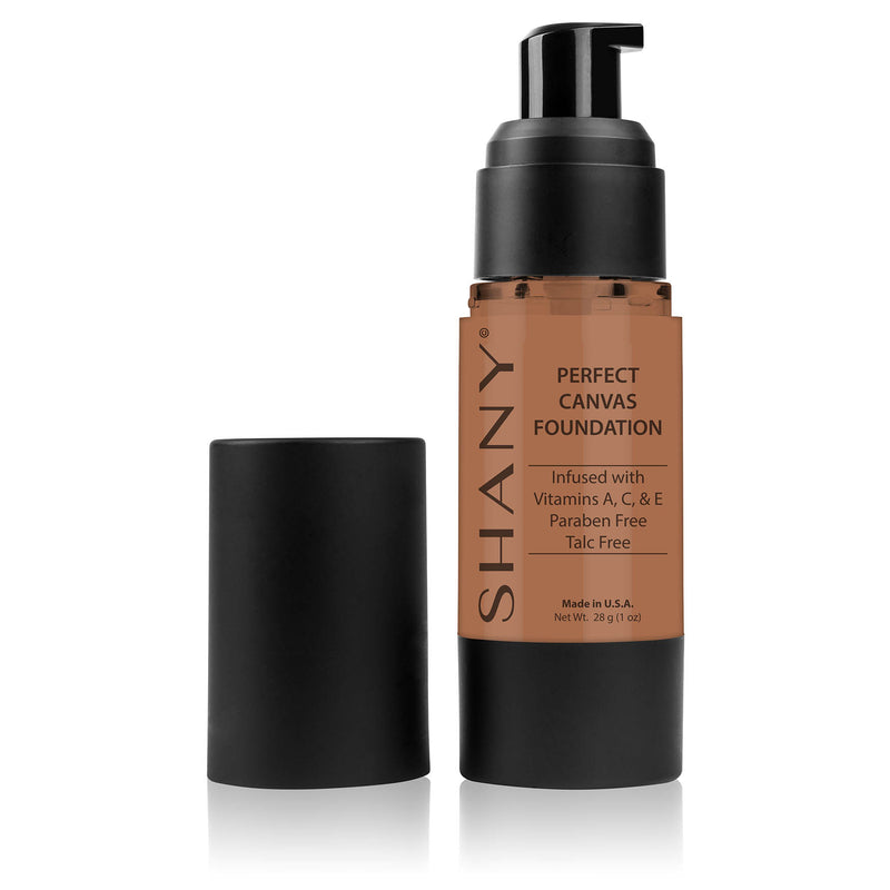 SHANY Perfect Liquid Foundation -Paraben Free- DC1 - DARK COOL 1 - ITEM# FL-DC1 - Best seller in cosmetics FOUNDATION category