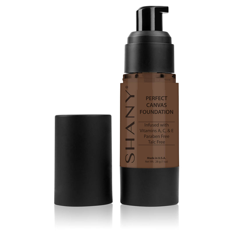 SHANY Perfect Liquid Foundation -Paraben Free- DC2 - DARK COOL 2 - ITEM# FL-DC2 - Best seller in cosmetics FOUNDATION category