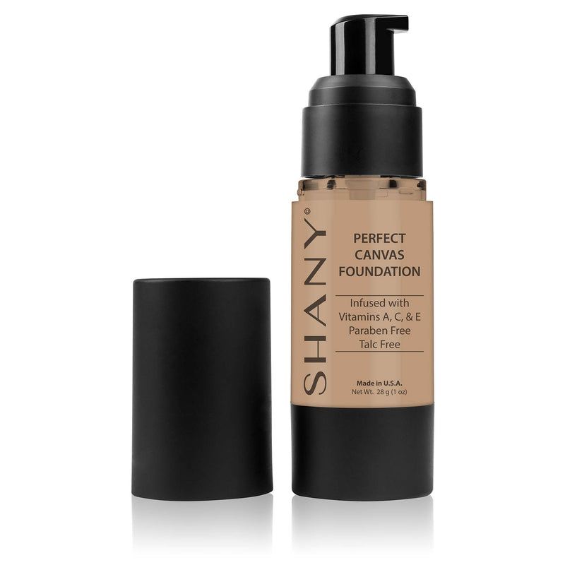 SHANY Perfect Liquid Foundation -Paraben Free- LC1 - LIGHT COOL 1 - ITEM# FL-LC1 - Best seller in cosmetics FOUNDATION category