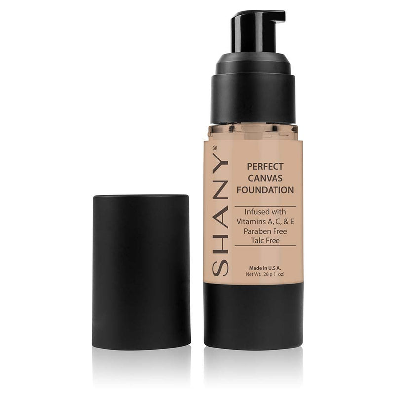 SHANY Perfect Liquid Foundation -Paraben Free- MC2 - MEDIUM COOL 2 - ITEM# FL-MC2 - Best seller in cosmetics FOUNDATION category