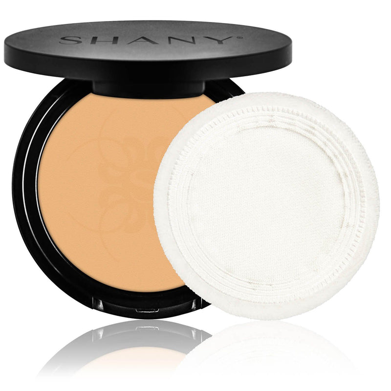 SHANY Two Way Foundation -Oil Free -LIGHT AMBER