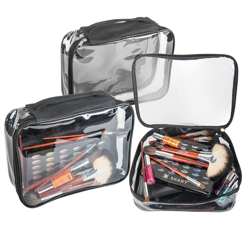 SHANY Travel Bag- Waterproof- Clear