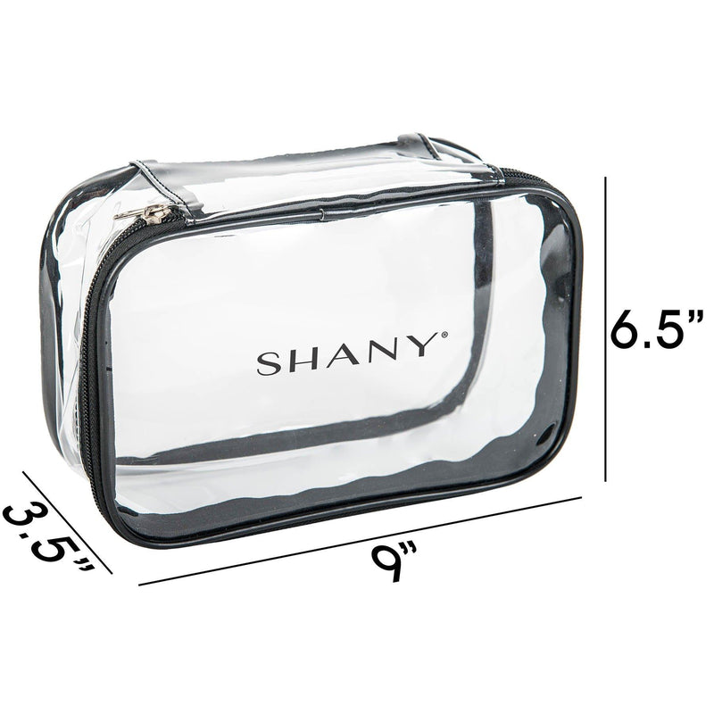 SHANY Clear Cosmetics Travel bag - Waterproof -  - ITEM# SH-PC07 - Best seller in cosmetics TRAVEL BAGS category