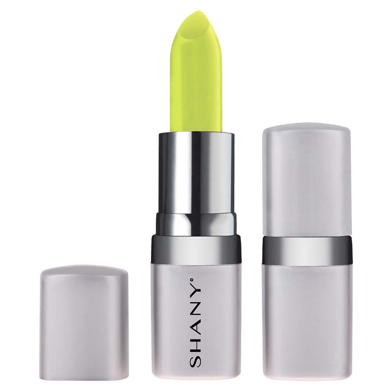 SHANY Bold Lipstick - Paraben Free/Talc Free - APPLE GREEN - APPLE GREEN - ITEM# LP310 - The new line of SHANY Bold Lipsticks are not only long lasting, but also good for your lips! This full-coverage lipstick goes on smoothly and applies evenly. It comes in a wide variety of bold and adventurous colors and tones to b