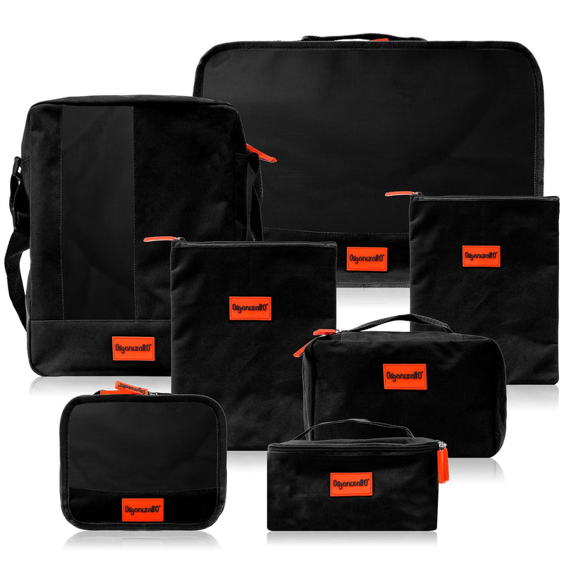 Travel Organizer 7-in-1 Set -  - ITEM# OR-TB700-PARENT - Best seller in cosmetics TRAVEL BAGS category