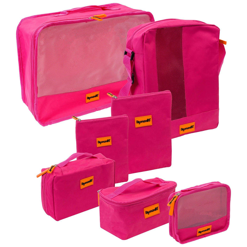 SHANY Organizatto Travel Organizer 7-in-1 Set