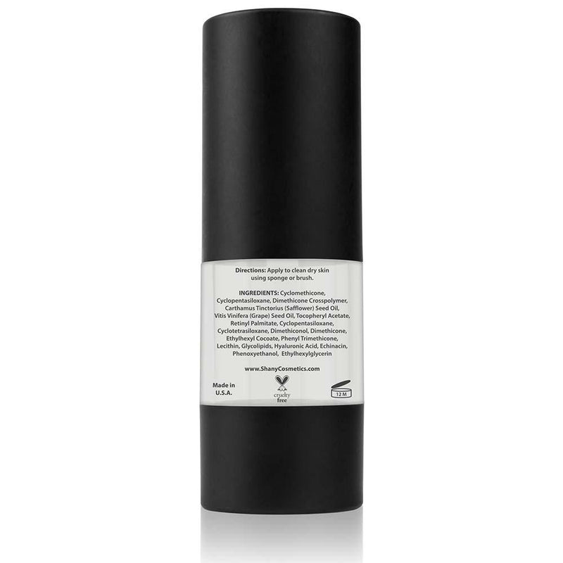 SHANY Hydrating Face Primer - Paraben Free/Talc Free - HYDRATING - ITEM# P-002 - With all the benefits of regular Foundation Primer, this Hydrating Foundation is a specialized product for dehydrated or aging skin at any age. Light diffusing to create a 'soft focus' appearance that causes fine lines and wrinkle