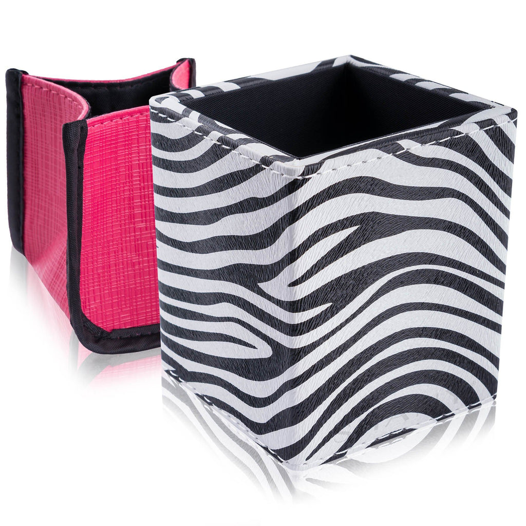 SHANY Makeup Brush Holder -  - ITEM# SH-BRHL-PARENT - makeup brush holder bag display pencil pen holder,Make-up cosmetics brush holder display storage,organizer professional compartments part Portable,applicator brush holder storage brush bag pouch,Small big Cosmetic case locking Space Saver stands - UPC# 700645934165