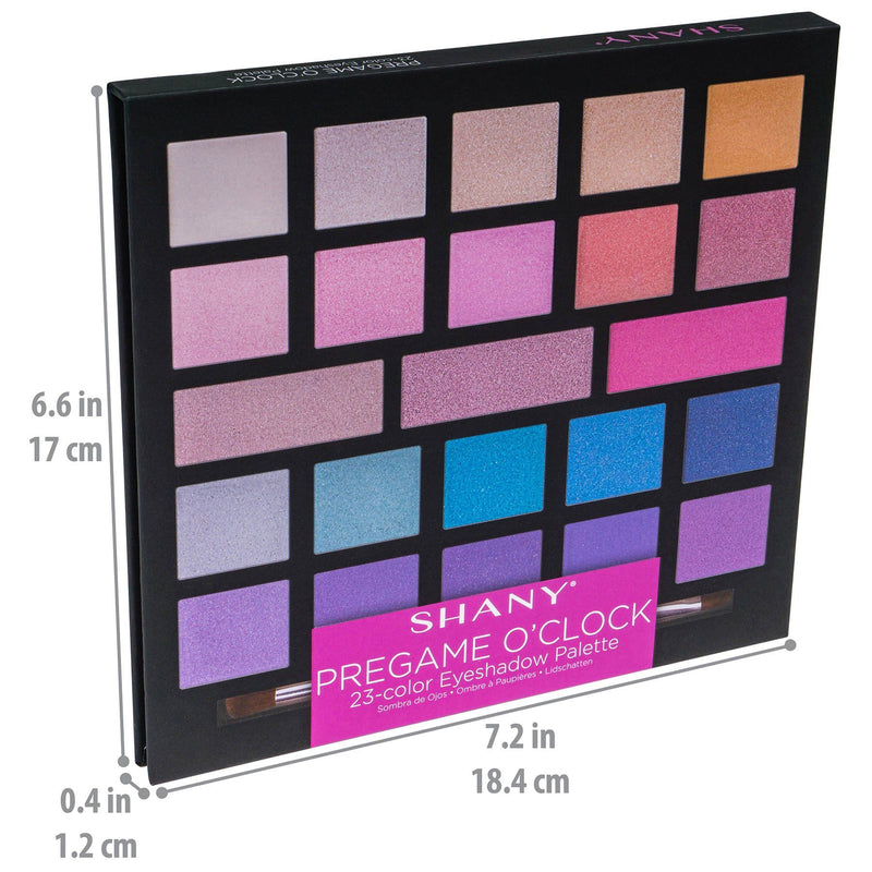 SHANY PreGame O'Clock Eyeshadow Palette - PRE-GAME - ITEM# SH-0023-M - Best seller in cosmetics MAKEUP SETS category