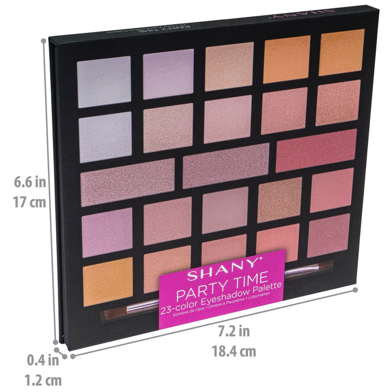 SHANY Party Time Eyeshadow Palette - PARTY-TIME - ITEM# SH-0023-N - Best seller in cosmetics MAKEUP SETS category