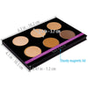 SHANY Cream Contour & Highlighting Palette - CONTOUR - ITEM# SH-6L-01 - Best seller in cosmetics CONCEALER category