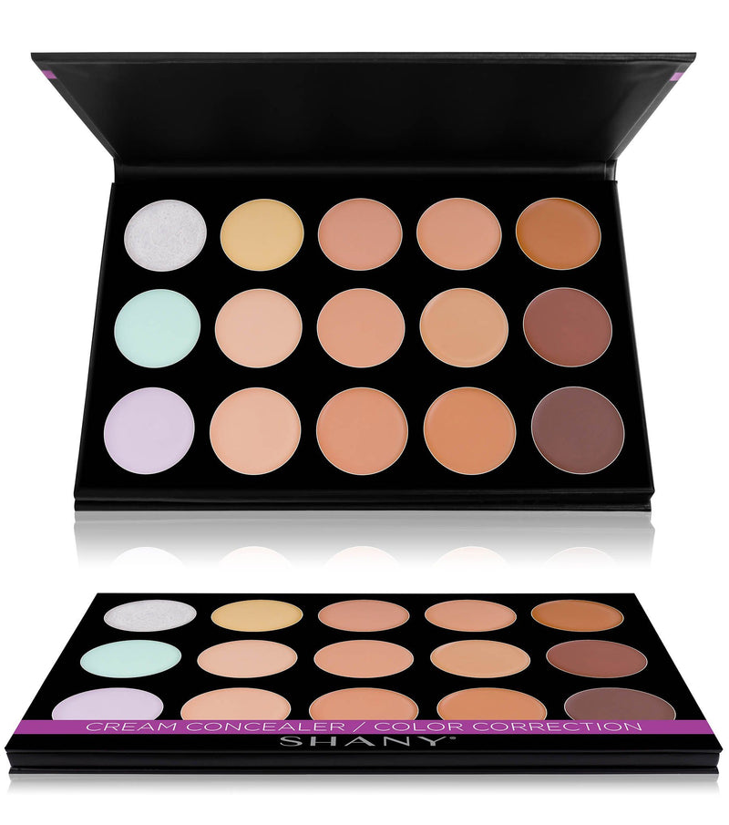 SHANY Cream Concealer/Color Correcting Palette - CONCEALER - ITEM# SH-6L-. SHANY Cream Contour & Highlighting ...