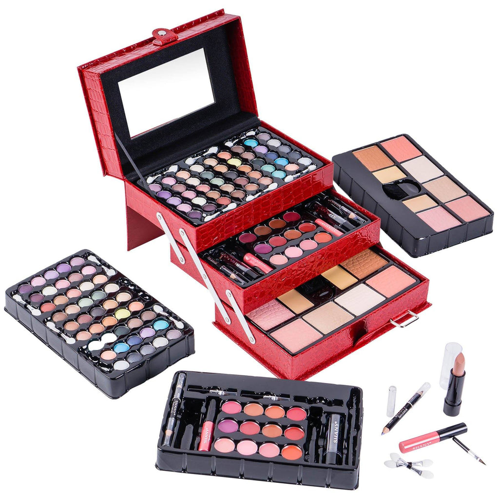 SHANY All In One Makeup Kit (Eye Shadow, Blushes, Powder, Lipstick & More) Holiday Exclusive - SHOP  - MAKEUP SETS - ITEM# SH-2012-PARENT