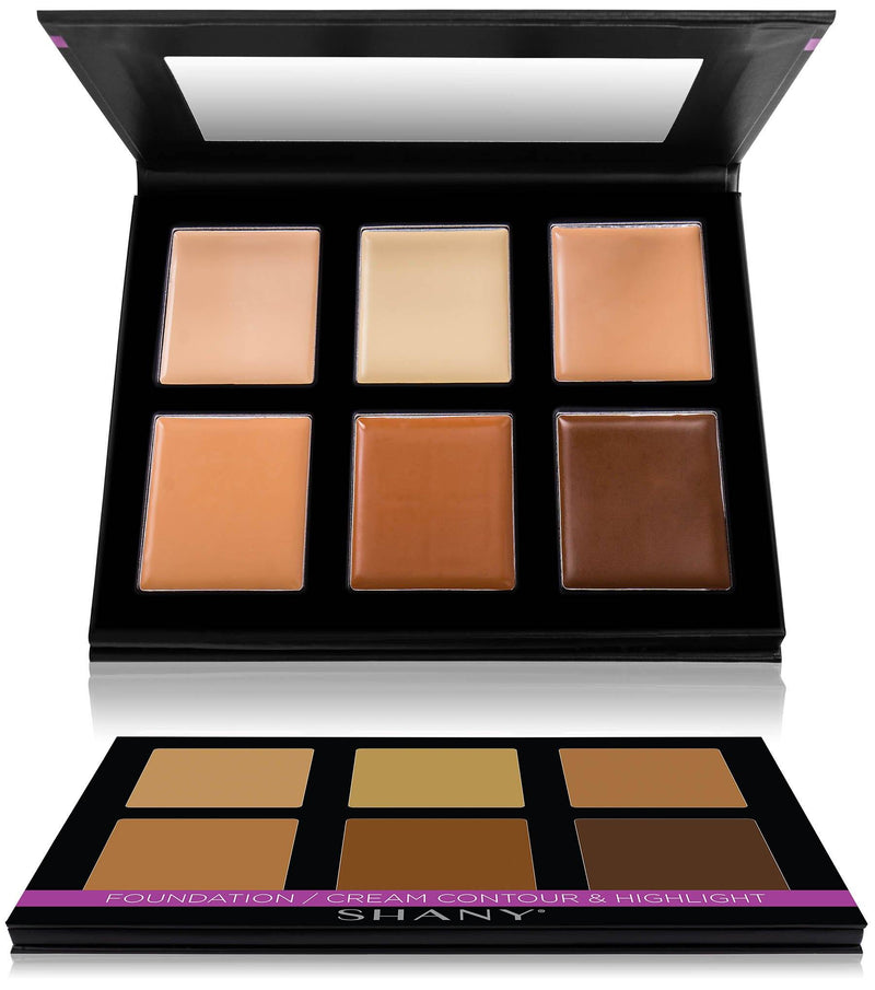 SHANY Foundation/Cream Contour & Highlight Palette