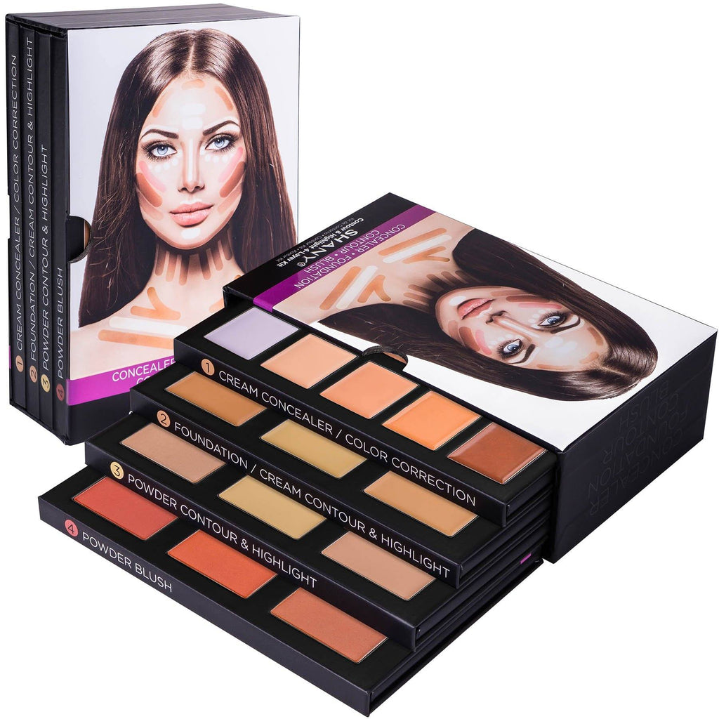 4-Layer Contour and Highlight Makeup Kit - SHANY
