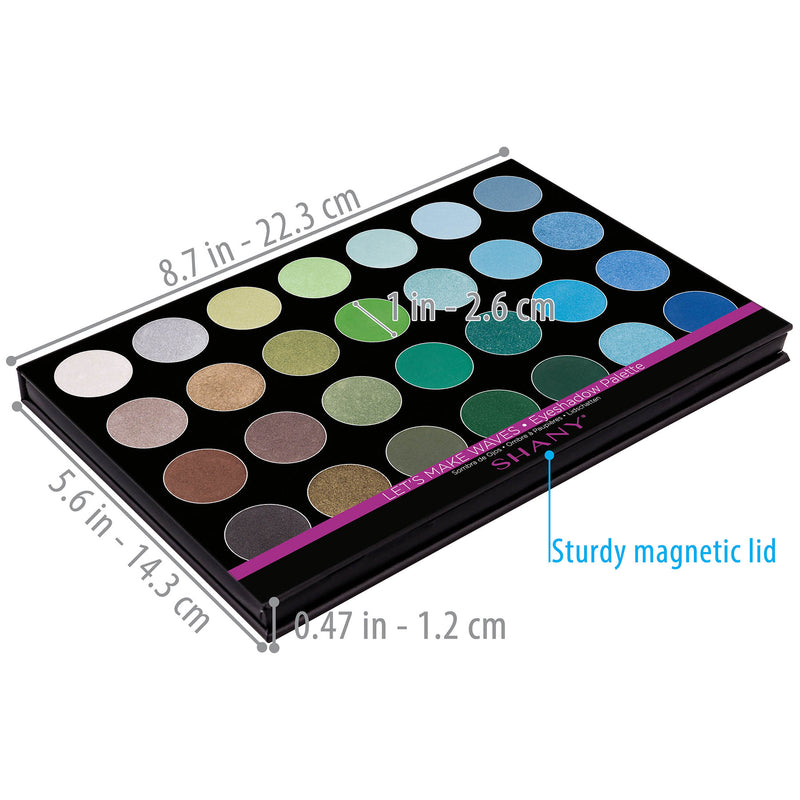 "SHANY Masterpiece Eye shadow- ""LET""S MAKE WAVES"" - LET'S MAKE WAVES - ITEM# SH-7L-003 - Best seller in cosmetics EYE SHADOW SETS category"