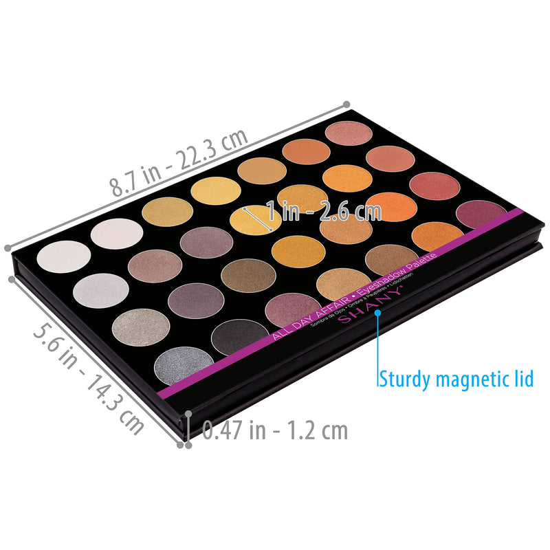 "SHANY Masterpiece Eyeshadow -""ALL DAY AFFAIR"" - ALL DAY AFFAIR - ITEM# SH-7L-004 - Best seller in cosmetics EYE SHADOW SETS category"