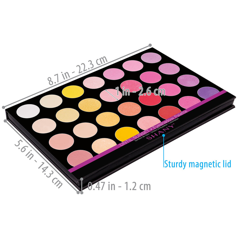 "SHANY Masterpiece Eye shadow-""UNTIL SUNSET"" - UNTIL SUNSET - ITEM# SH-7L-005 - Best seller in cosmetics EYE SHADOW SETS category"