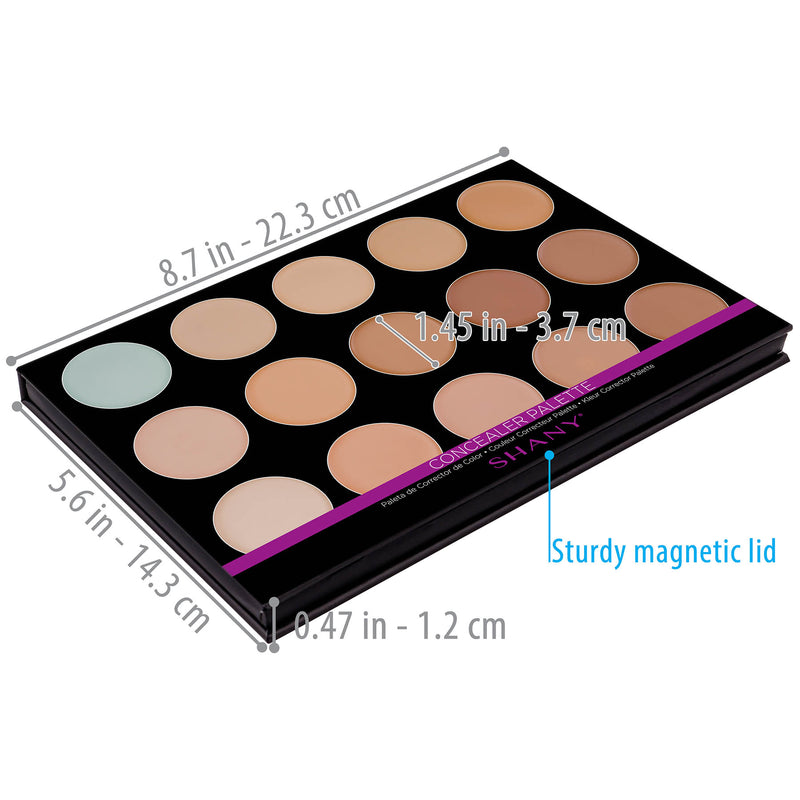 "SHANY Masterpiece Concealer-15 Color- ""TONED"" - TONED - ITEM# SH-7L-006 - Best seller in cosmetics FOUNDATION category"