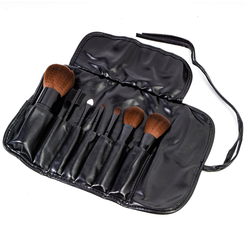 SHANY Studio Brush Sets-7pc -  - ITEM# SH-7PCBRUSH - makeup contour brush set Holiday gift for her mom,it cosmetics brushes BH brush set BS-MALL Makeup,morphe brush set Makeup Brushes Premium Synthetic,cosmetics brush set applicator makeup brush sets,makeup brush set with case Zoreya brush bag makeup - UPC# 914541354772