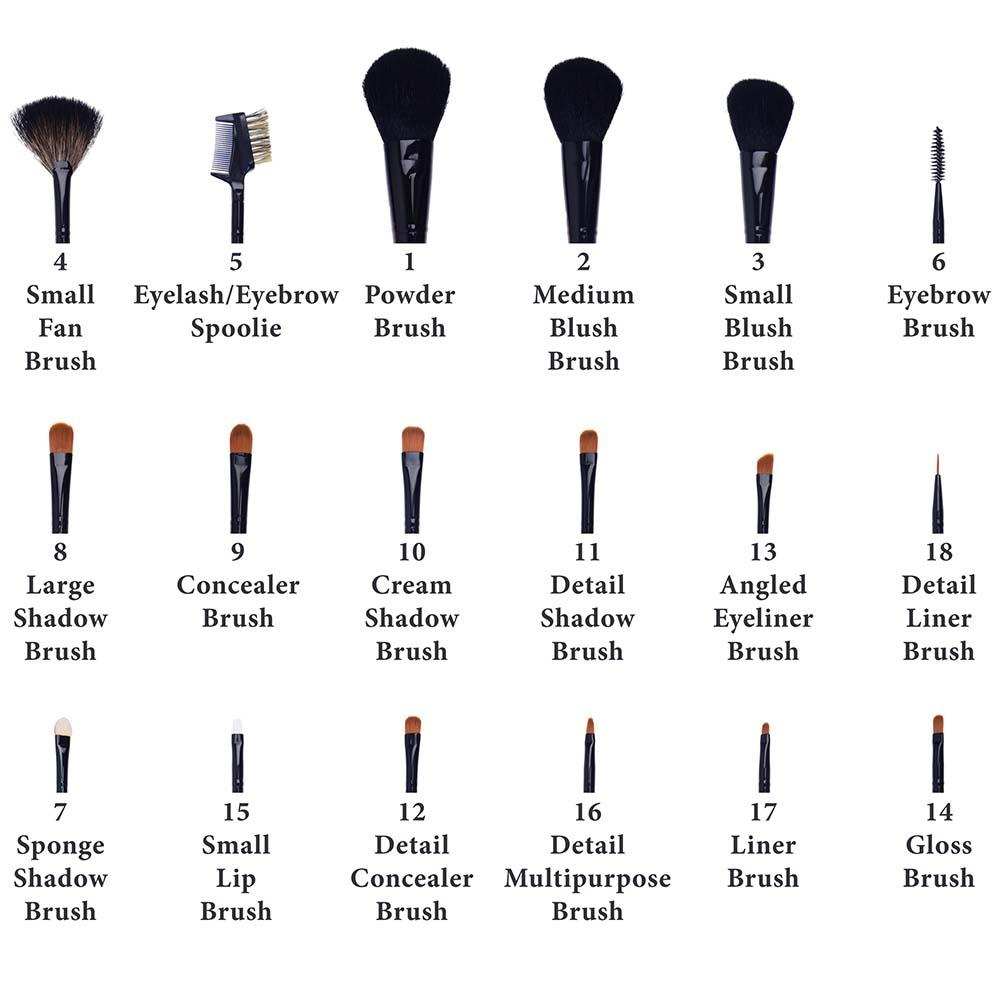 SHANY Makeup Brush & Apron- 18pc -  - ITEM# SH-APRON-03 - makeup contour brush set Holiday gift for her mom,it cosmetics brushes BH brush set BS-MALL Makeup,morphe brush set Makeup Brushes Premium Synthetic,cosmetics brush set applicator makeup brush sets,makeup brush set with case Zoreya brush bag makeup - UPC# 721405558414