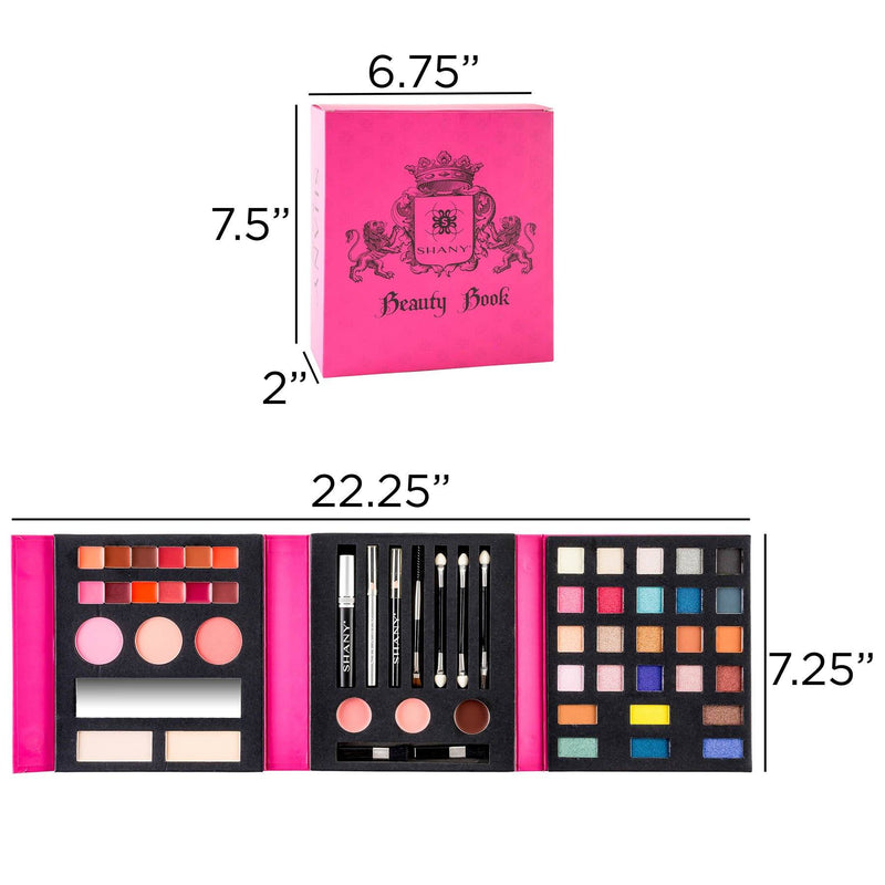 SHANY Beauty Book -  - ITEM# SH-BEAUTYBOOK-B - Best seller in cosmetics MAKEUP SETS category