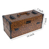 Modern Cosmetics Train Case Makeup Organizer - SHANY