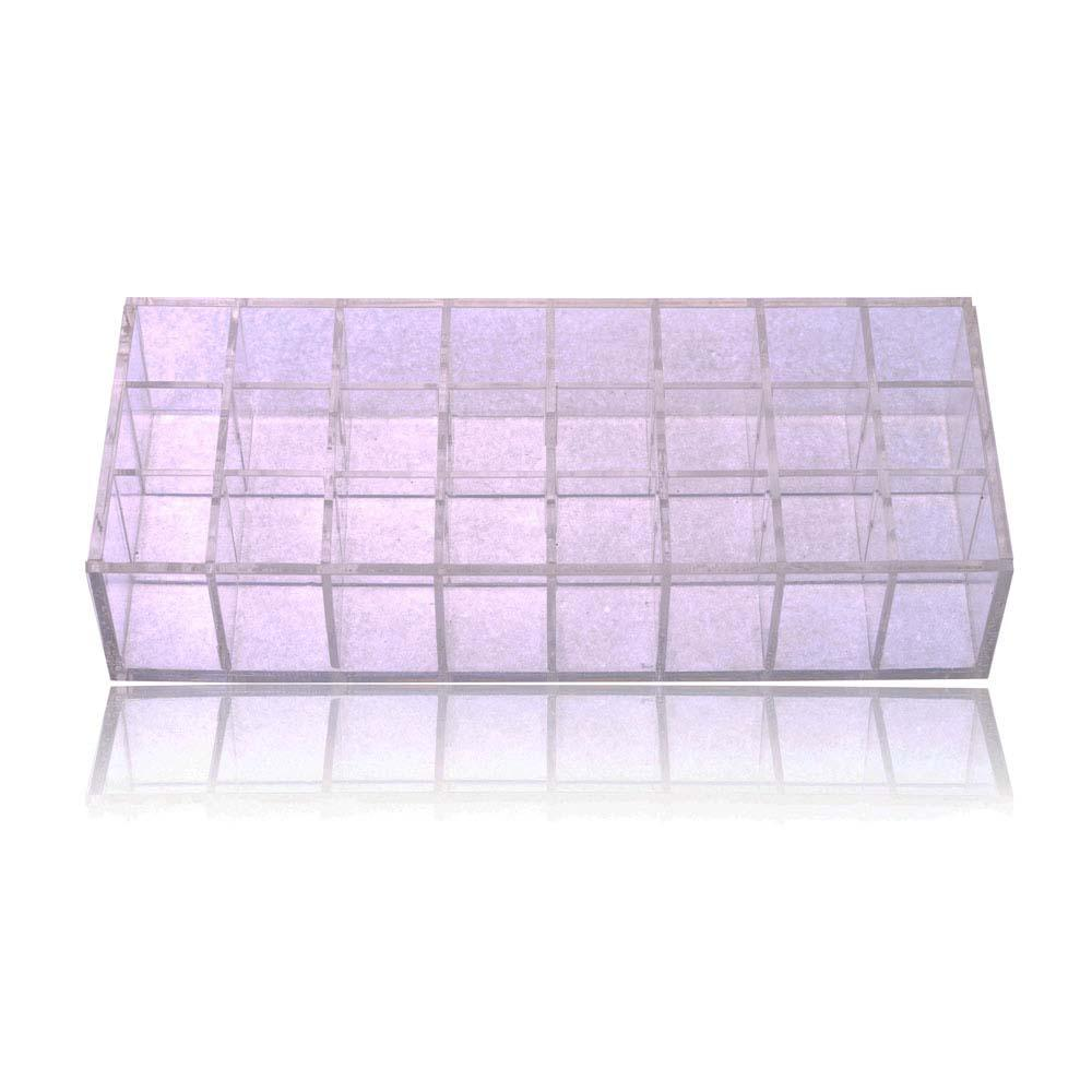 SHANY Acrylic Display & Storage Holder -  - ITEM# SH-DISH01 - jewelry storage acrylic makeup Drawers display,Multi-Function sorbus lipsticks Nail Polish clear,organizer professional compartments part Portable,Rotating rack self Adjustable Box beauty items,Small big Cosmetic case locking Space Saver stands - UPC# 723175176645