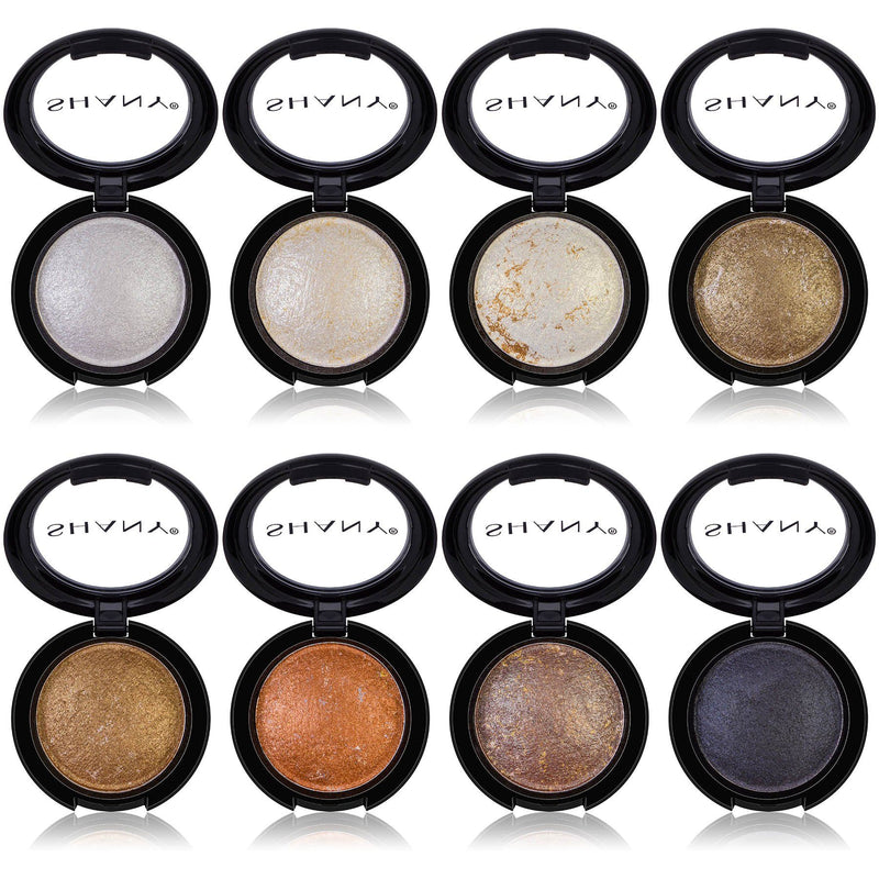 SHANY Beautifully Baked 8-Piece Eyeshadow Set