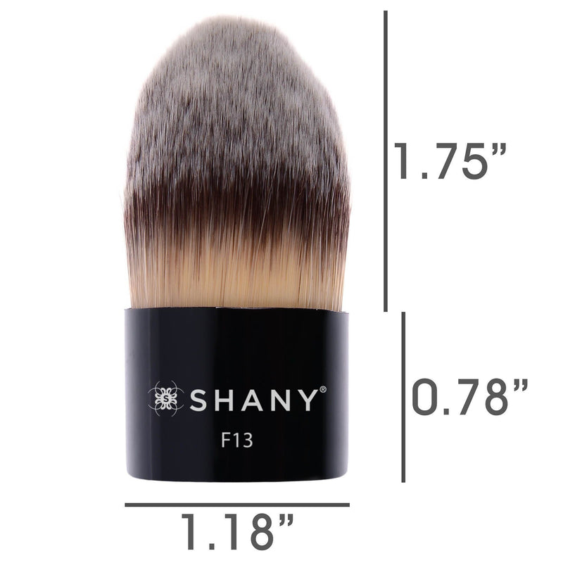 SHANY TAPERED KABUKI BRUSH - TAPERED - ITEM# SH-F13 - Best seller in cosmetics BRUSHES category