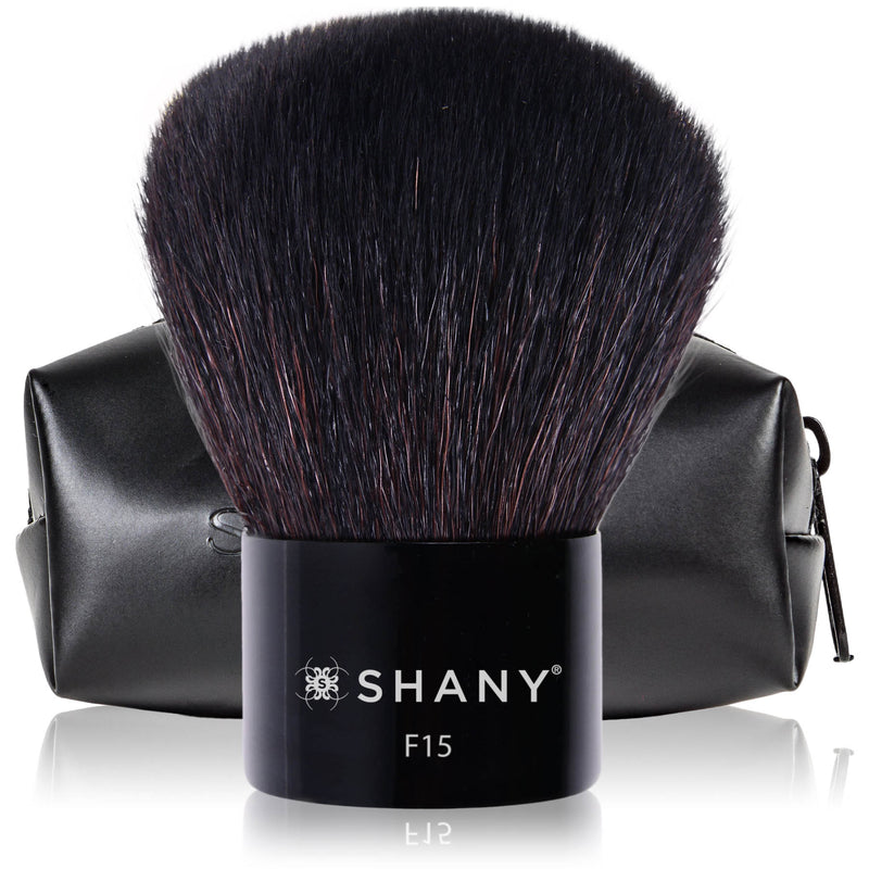 SHANY Master Kabuki – Powder and Highlighter-Perfect for Contouring - SHOP CONTOURING - BRUSHES - ITEM# SH-F15