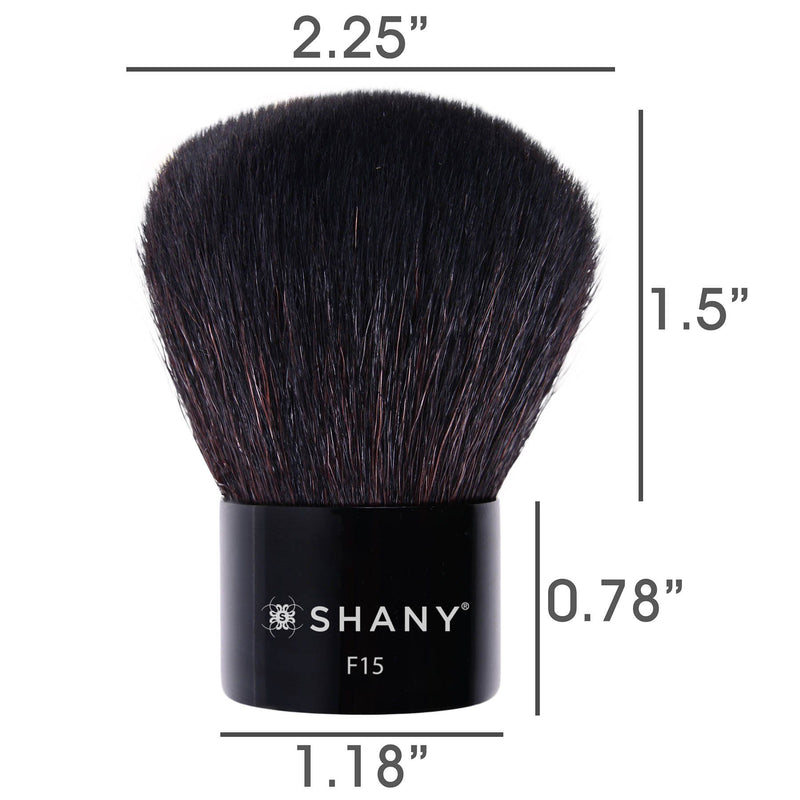 SHANY Master Kabuki -  Perfect for Contouring - CONTOURING - ITEM# SH-F15 - Best seller in cosmetics BRUSHES category