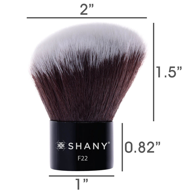 SHANY Angled Kabuki-Blush & Bronzer- Synthetic - ANGLED - ITEM# SH-F22 - Best seller in cosmetics BRUSHES category