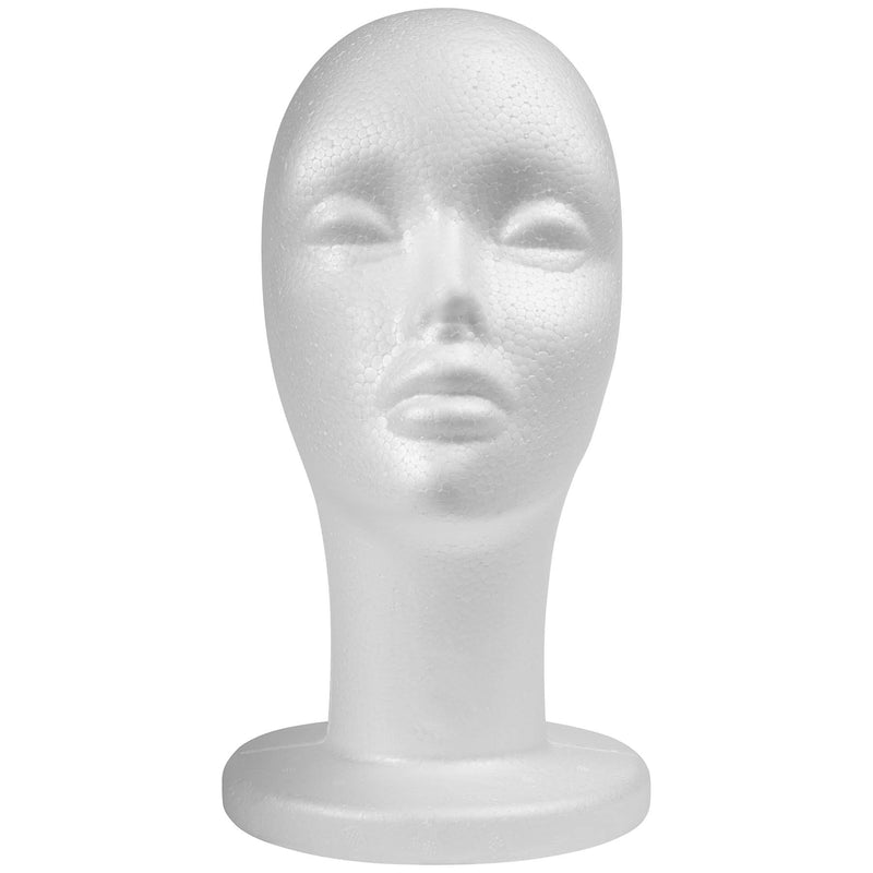 SHANY Styrofoam 12 Inches  Model Heads - 8 PC