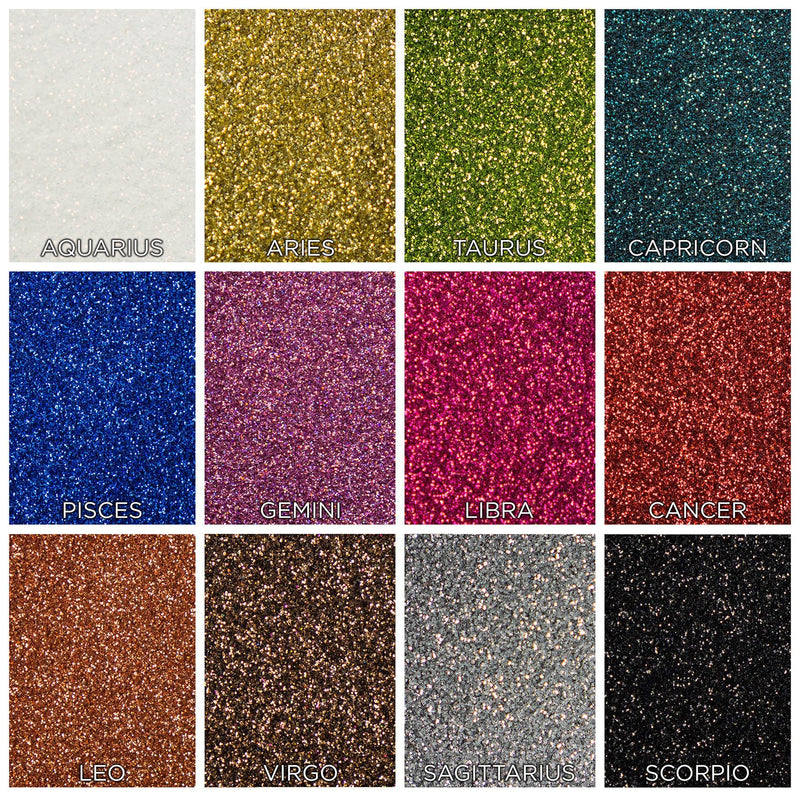 SHANY Colorscope 12-Color Face & Body Glitter Set