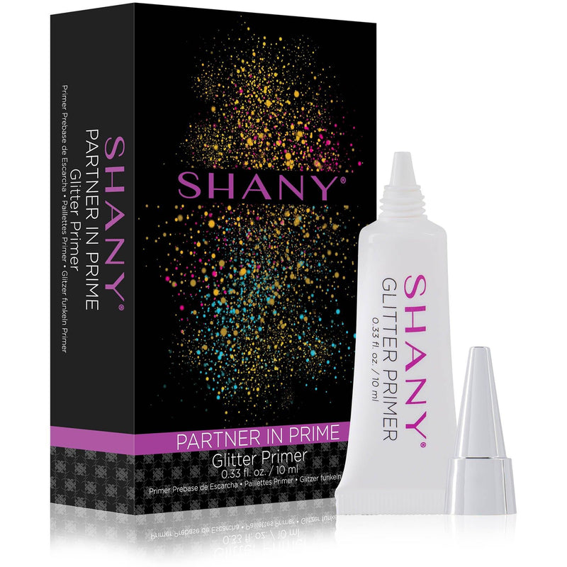 SHANY Partner In Prime Glitter Primer - Long-Lasting Sticky Glitter Makeup Base/Eyeshadow Primer for Face, Eyes and Lips - SHOP  - EYE BASE, PRIMER - ITEM# SH-GLPL