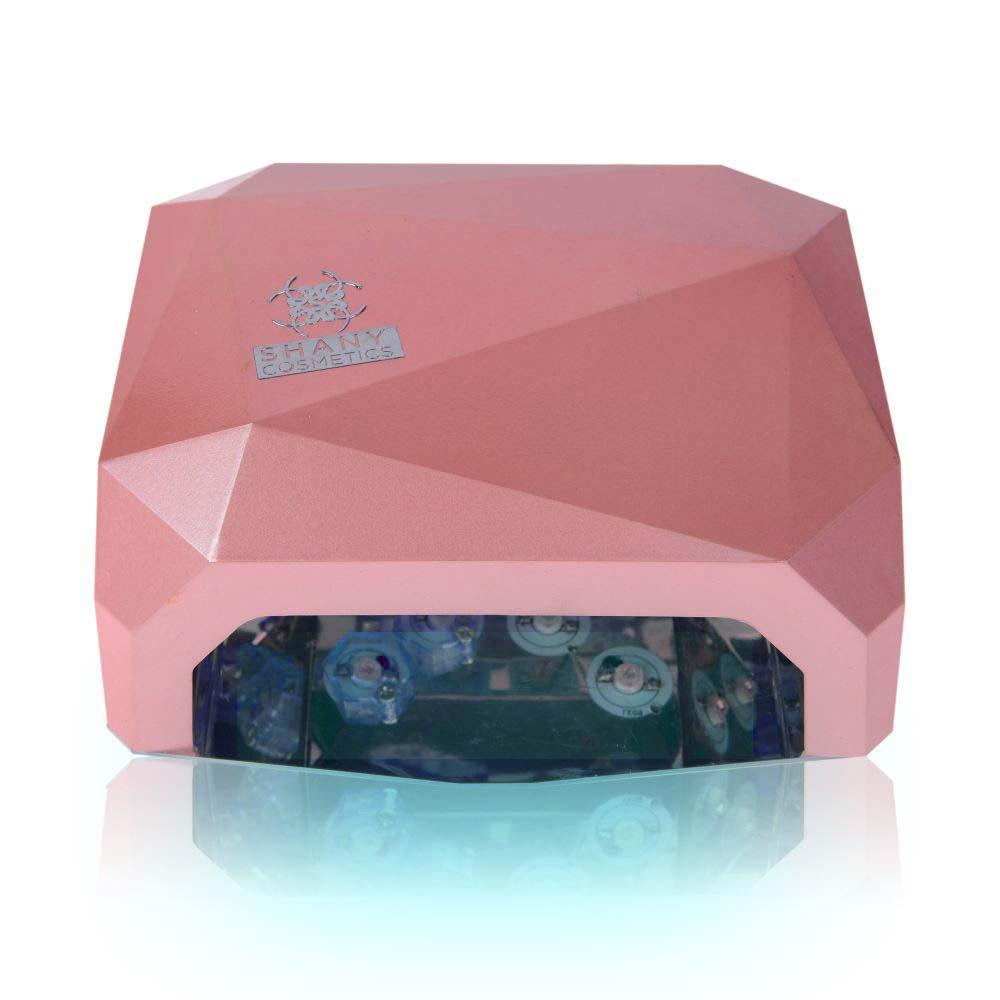 SHANY Salon Expert 12W LED Nail Dryer/Lamp - Compact, Trendy Design W/3 Timers - SHOP  - NAIL MACHINES - ITEM# SH-LL-P1200