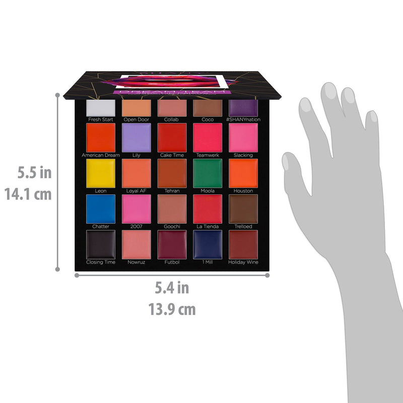 SHANY Dream Team Lip Palette - 25 Lipstick Pans -  - ITEM# SH-LP0025-A - Best seller in cosmetics LIP SETS category