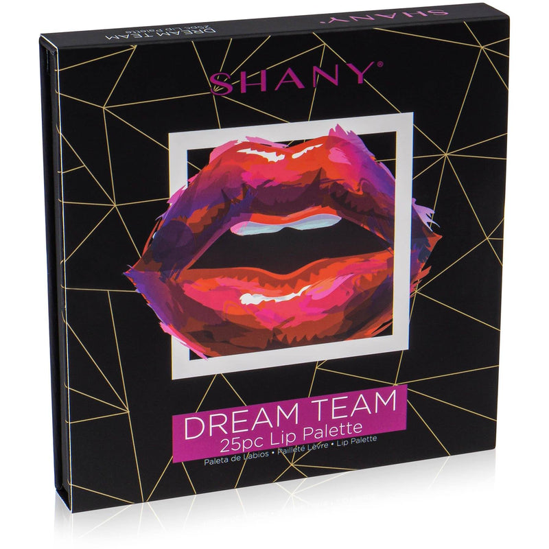 SHANY Dream Team Lip Palette - 25 Lipstick Pans