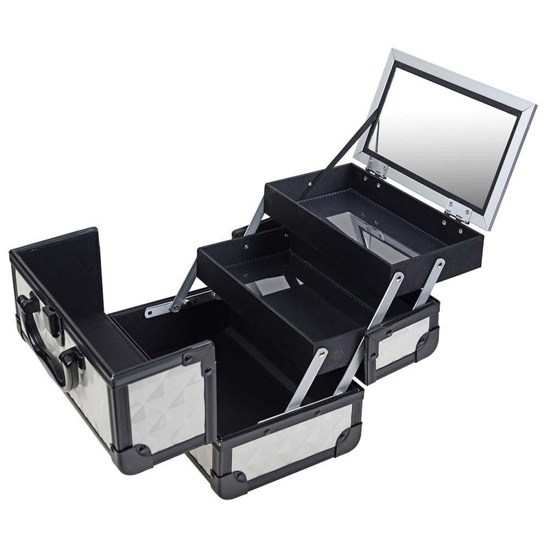 SHANY Mini Makeup Train Case - Peaceful