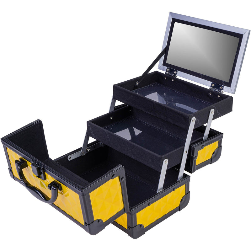 SHANY Mini Makeup Train Case With Mirror - Optimis