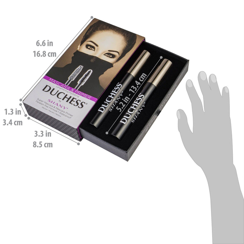 DUCHESS by SHANY 2-Piece Waterproof Mascara Set -  - ITEM# SH-MAS-1 - Best seller in cosmetics BROWS & LASHES category