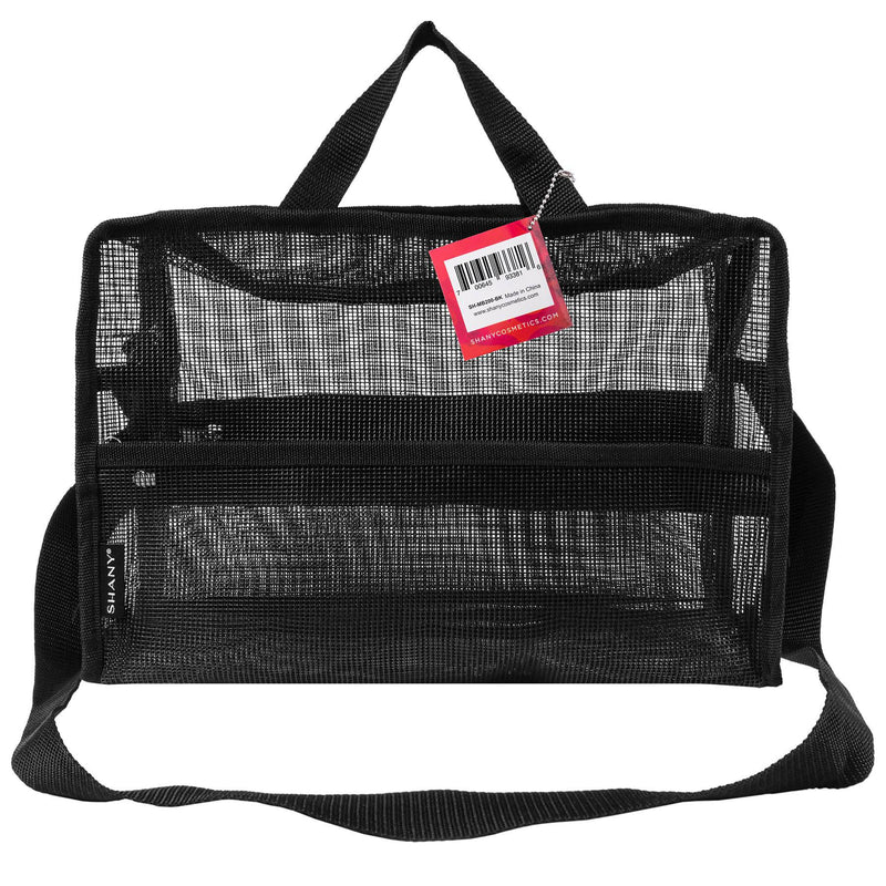 SHANY Collapsible Mesh Bag and Travel Tote -  - ITEM# SH-MB200-BK - Best seller in cosmetics MESH BAGS category
